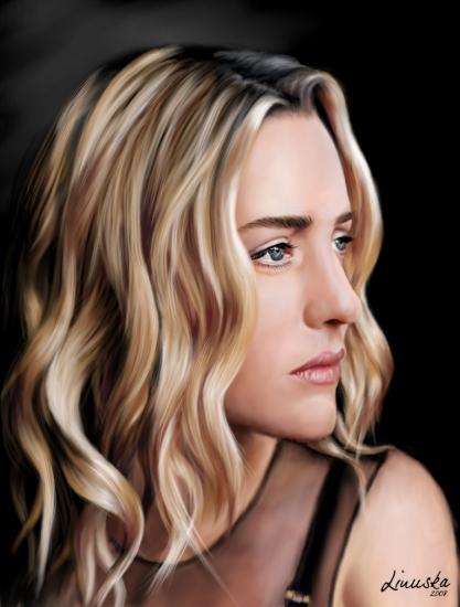 Kate Winslet por Linuska